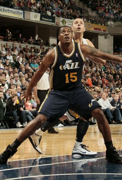 Derrick Favors vs. the Pacers